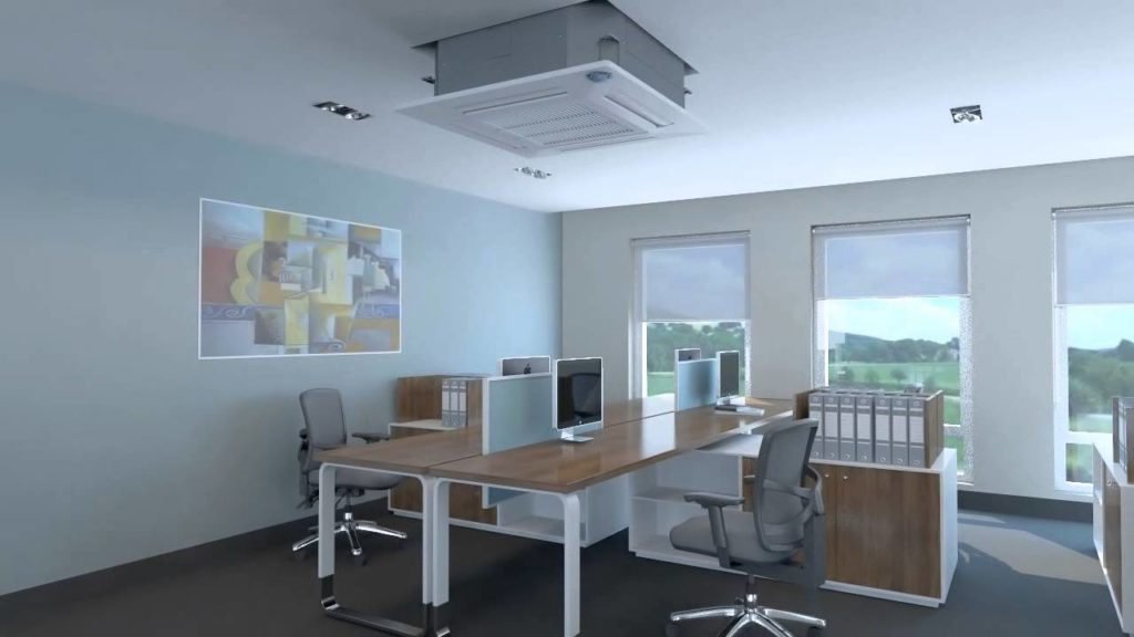 Cassette Air Conditioners for office