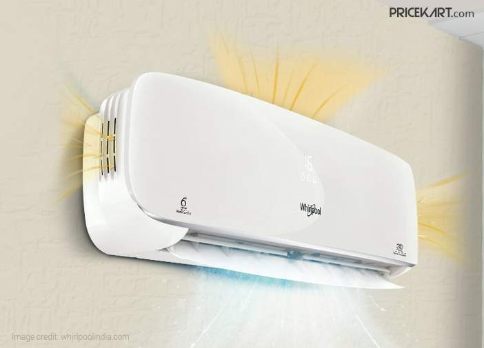 Wi-Fi enabled 3D cool Whirlpool Inverter AC